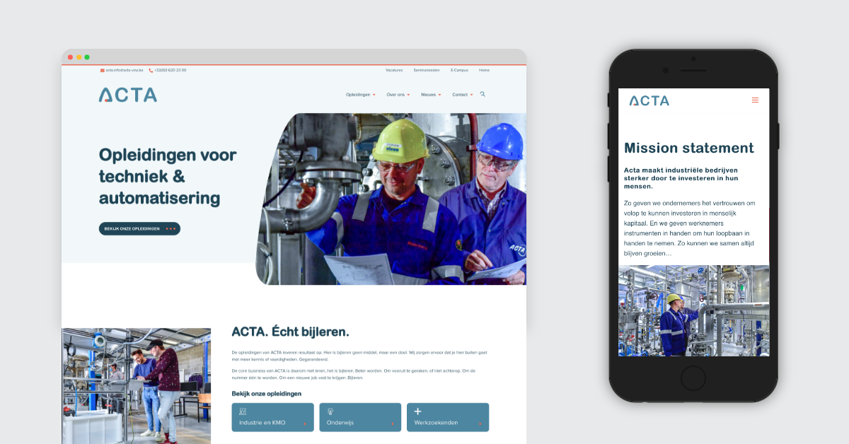 Acta opleidingen - viavictor